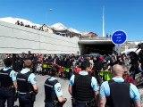 Col de l'Échelle : des manifestants antifascistes ont traversé la frontière (2)