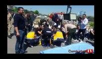 Manisa'da askerleri taşıyan midibüs tırla çarpıştı: 25 asker yaralı