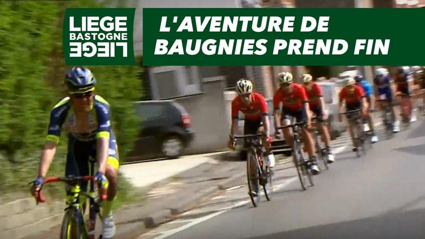 L'aventure de Baugnies prend fin - Liège-Bastogne-Liège 2018