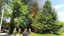 Saint-Martin-d'Heres : nouvel incendie sur le campus