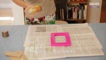 Cómo decorar un portarretratos con gemas