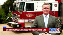 Oklahoma Police Sergeant Critically Injured in Horse Accident Meets Heroes Who Saved His Life