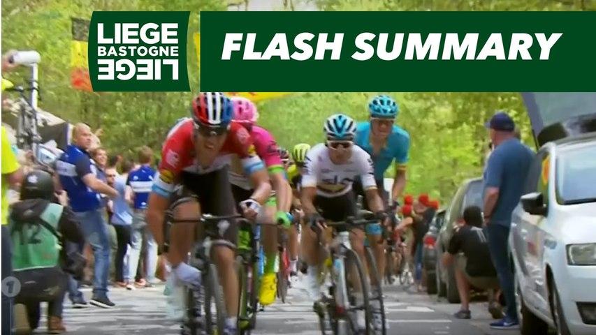 Flash Summary - Liège-Bastogne-Liège 2018