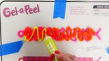Gel-a-Peel Paquete Colores Neon ✏ Arete de Pizza Gel - Joyeria de Gel - Brazaletes de Gel