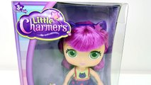 Hazel Muñeca Little Charmers + Vestido Play Doh Crea Ropa para tu Muñeca Juguetes DCTC