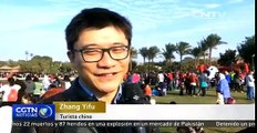 Los egipcios y chinos celebran juntos la festividad en El Cairo