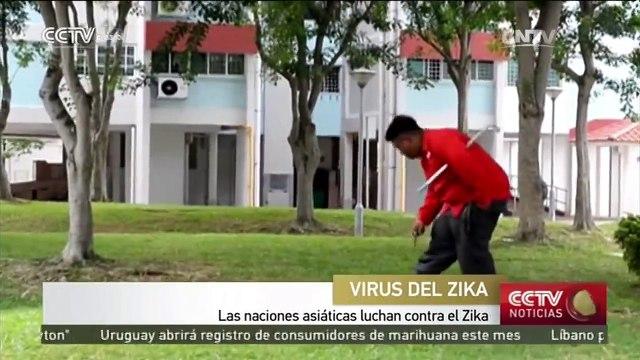 Naciones asiáticas luchan contra virus del Zika