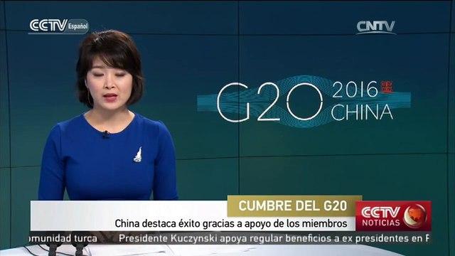 China destaca éxito gracias a apoyo de los miembros