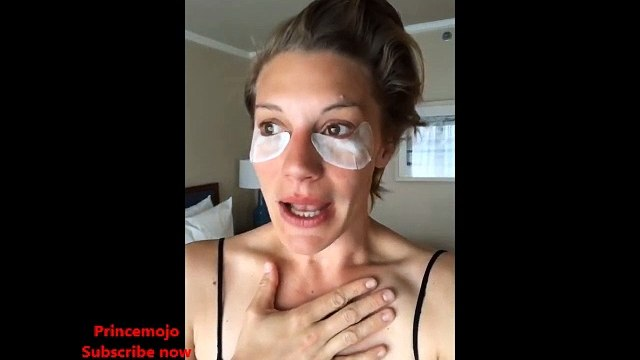 Katee Sackhoff Makep Idea s - IG Stories 2018