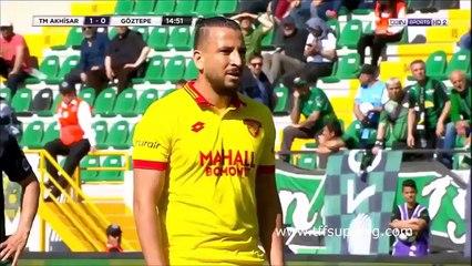 Goztepe : Nabil Ghilas inscrit son deuxième but de la semaine