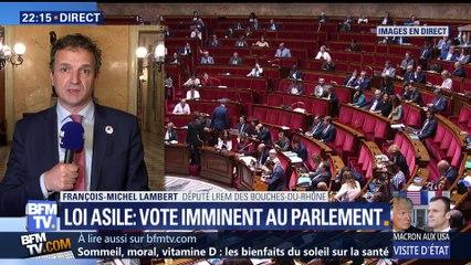 Loi asile et immigration: vote imminent au Parlement (1/2)