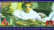 T M Soundararajan Legend GOLDEN VOICE IN THE WORLD BY THIRAVIDASELVAN VOL 171   TMS  MGR FANS