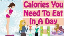 How Many Calories To Lose Weight! How Many Calories Should I Eat A Day!