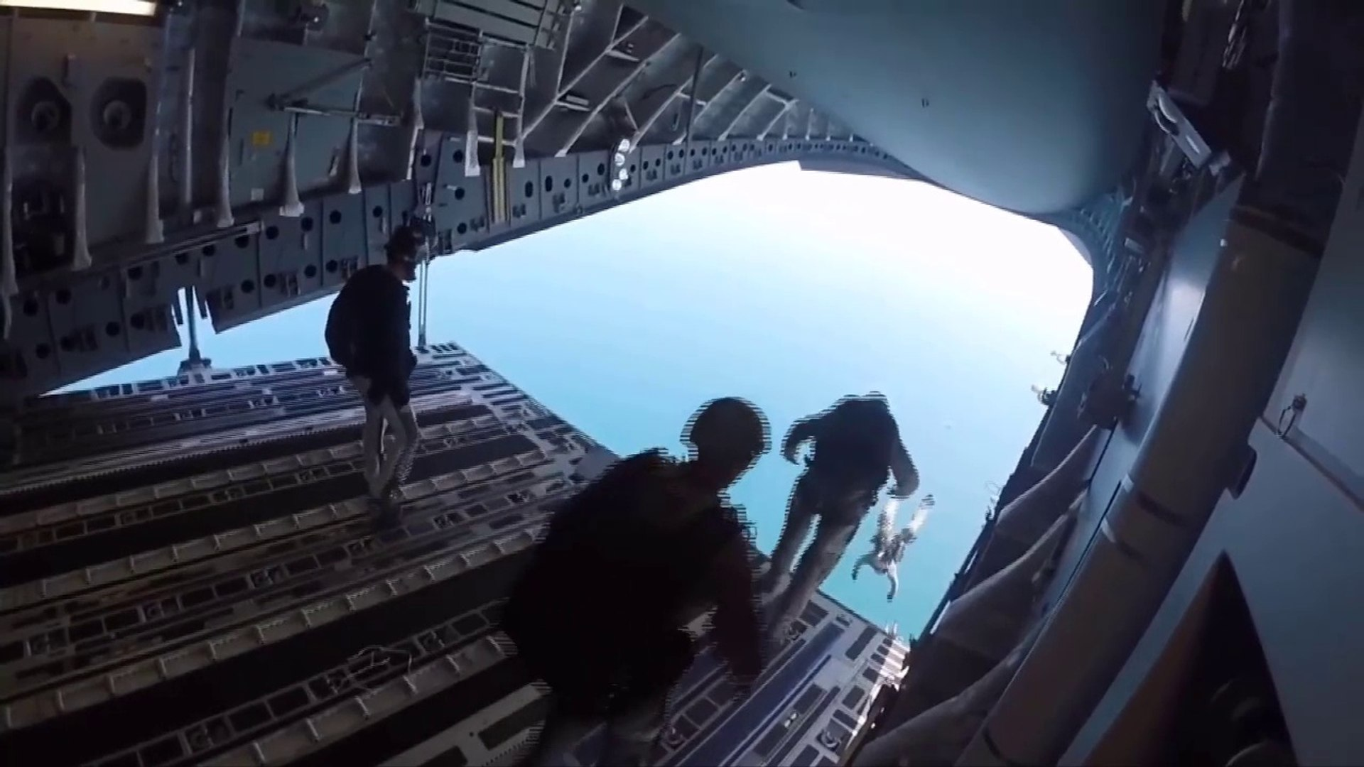 Special Operations Boat Airdrop From C-17- Low Velocity Airdrop Delivery System (LVADS)