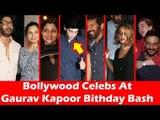 कबीर खान, ज़हीर खान, अर्शद वारसी पोहचे गौरव कपूर के जन्मदिन की पार्टी पर