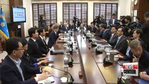 Working-level officials from South and North meet for final summit arrangements