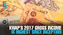 EVENING 5: KWAP sees record gross income in 2017