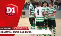 D1 Futsal, Journée 24 : tous les buts I FFF 2018