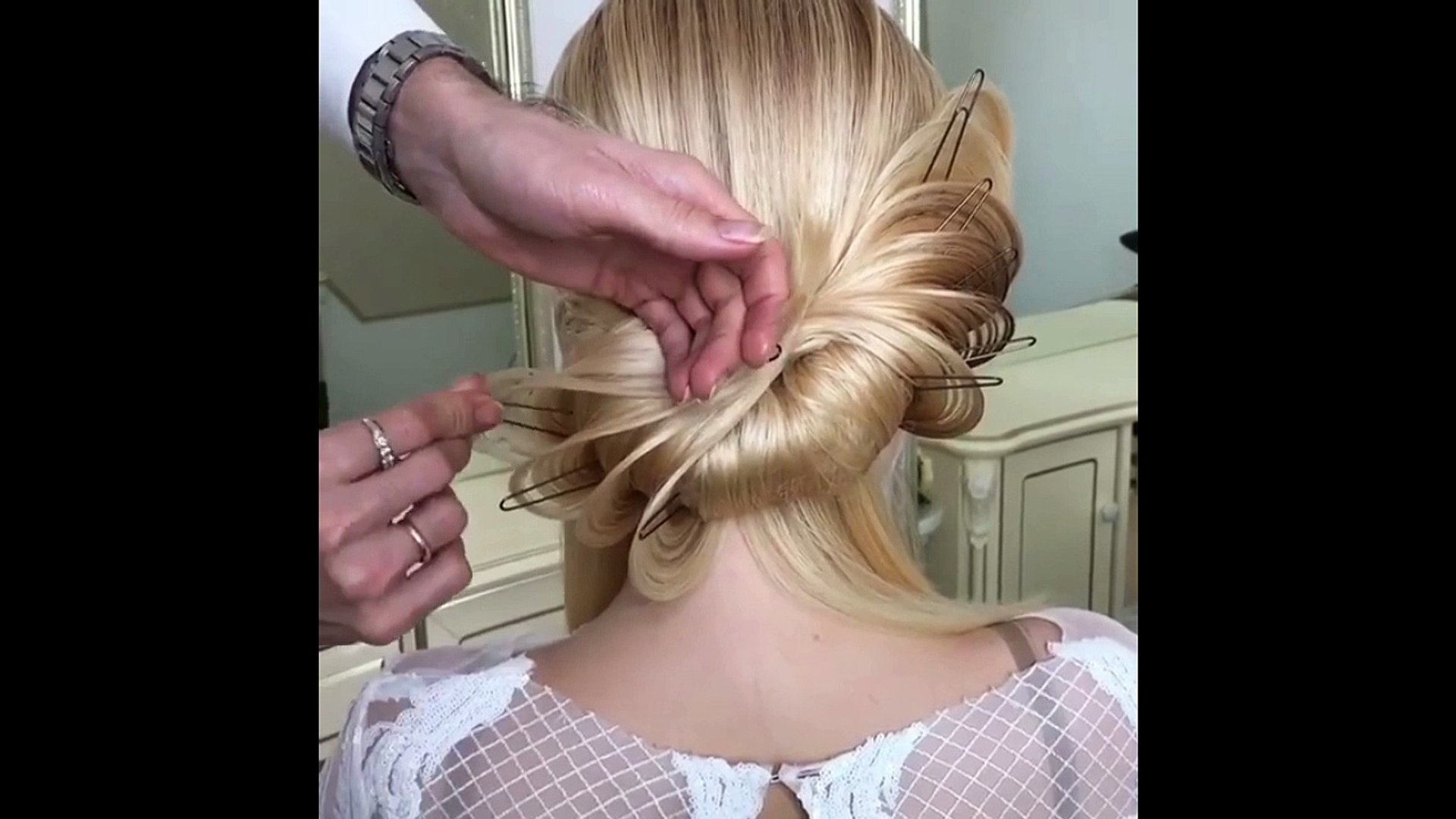 top 05 beautiful romantic hairstyle tutorials_!romantic updo tutorial?,;