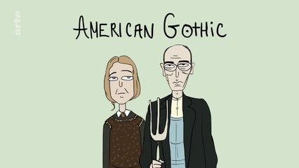 Draw my Life - La famille American Gothic