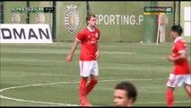 1-1 Branimir Kalaica Goal Portugal  Segunda Liga - 23.04.2018 Sporting Lisboa B 1-1 SL Benfica B