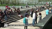 Denis surfys flashfm témoin de l'évacuation du Mont-Saint-Michel