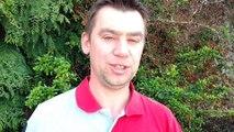 Michaël Lowie (Houdeng-Goegnies), supporter du FC Liverpool, préface le match contre l'AS Rome