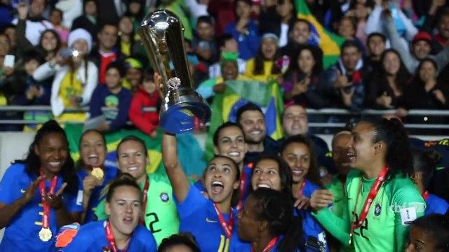 Veja os gols da vitória da Seleção Feminina que garantiu o Hepta da Copa América