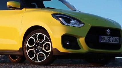 Suzuki Swift Sport Driving Video