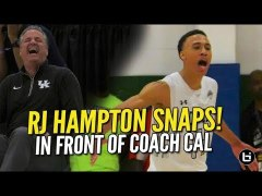 RJ Hampton Goes Off In Front Of Calipari UAA Full Game Highl