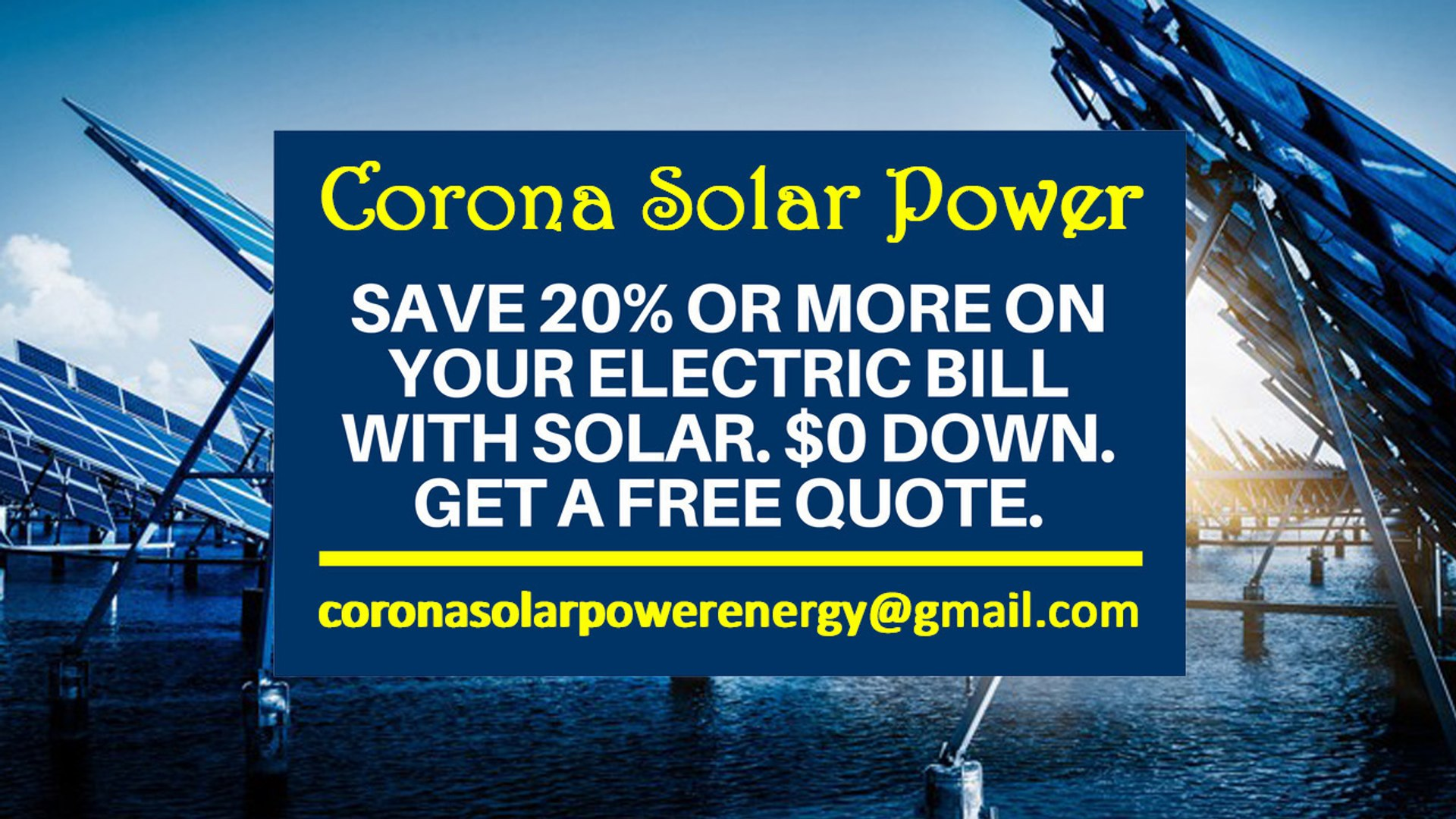 Affordable Solar Energy Corona CA - Corona Solar Energy Costs