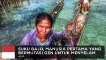 Suku Bajo di Indonesia adalah manusia pertama yang bermutasi gen untuk menyelam - TomoNews