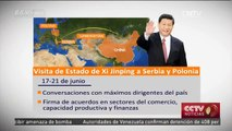 Visita de Xi Jinping impulsará relaciones de China con Europa central y oriental y con Asia central