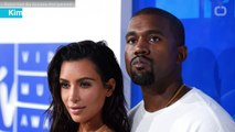 Kanye West Caught Smiling In Adorable Family Photo With Kim Kardashian