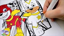 Best Learning Colors Paw Patrol Coloring Book Colours Super Pups Surprise Egg and Toy Collector SETC