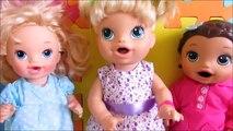 3 MINIS MONSTERS HIGH, Baby Alive Amandinha, Mel e Lilo. Novelinha da Baby Alive.