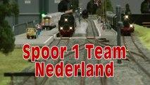 Modelleisenbahn vom Spoor 1 Team Nederland Modelbaan - Ein Video von Pennula über Modellbahnanlagen und Modelleisenbahnanlagen