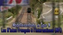 Spur N Modellbahn der Association Les N'istes Français à l'International (NFI) - Ein Video von Pennula über Modellbahnanlagen und Modelleisenbahnanlagen