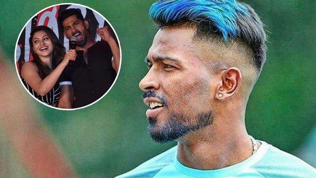 Hardik Pandya Spotted Flirting With Urvashi Rautela