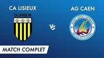 Régional 2 J18 : CA Lisieux - AG Caen (match complet)