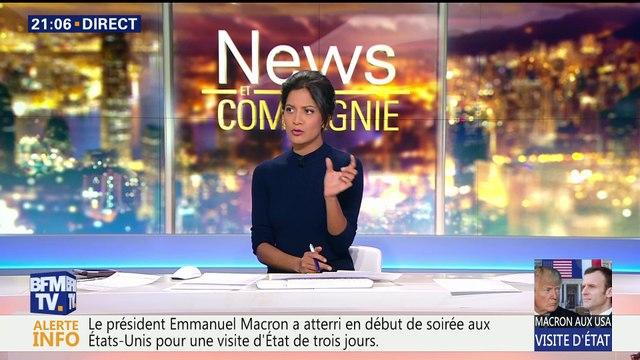 Emmanuel Macron a débuté sa visite d'État aux États-Unis (1/2)