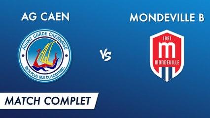 Régional 2 J15 : AG Caen - Mondeville B (match complet)