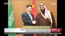 China y Arabia Saudí elevan lazos bilaterales al nivel de asociación estratégica integral