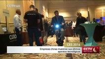 Empresas chinas muestran sus últimos aparatos tecnológicos
