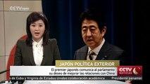 El premier japonés comunica al parlamento su deseo de mejorar las relaciones con China