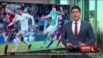 Ronaldo marca dos goles en la victoria de los blancos