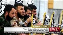 Fallece el máximo líder del grupo rebelde Jaish al-Islam en un ataque aéreo