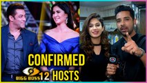 Puneesh Sharma And Bandgi Kalra CONFIRMS Salman And Katrina HOSTING Bigg Boss 12 | TellyMasala