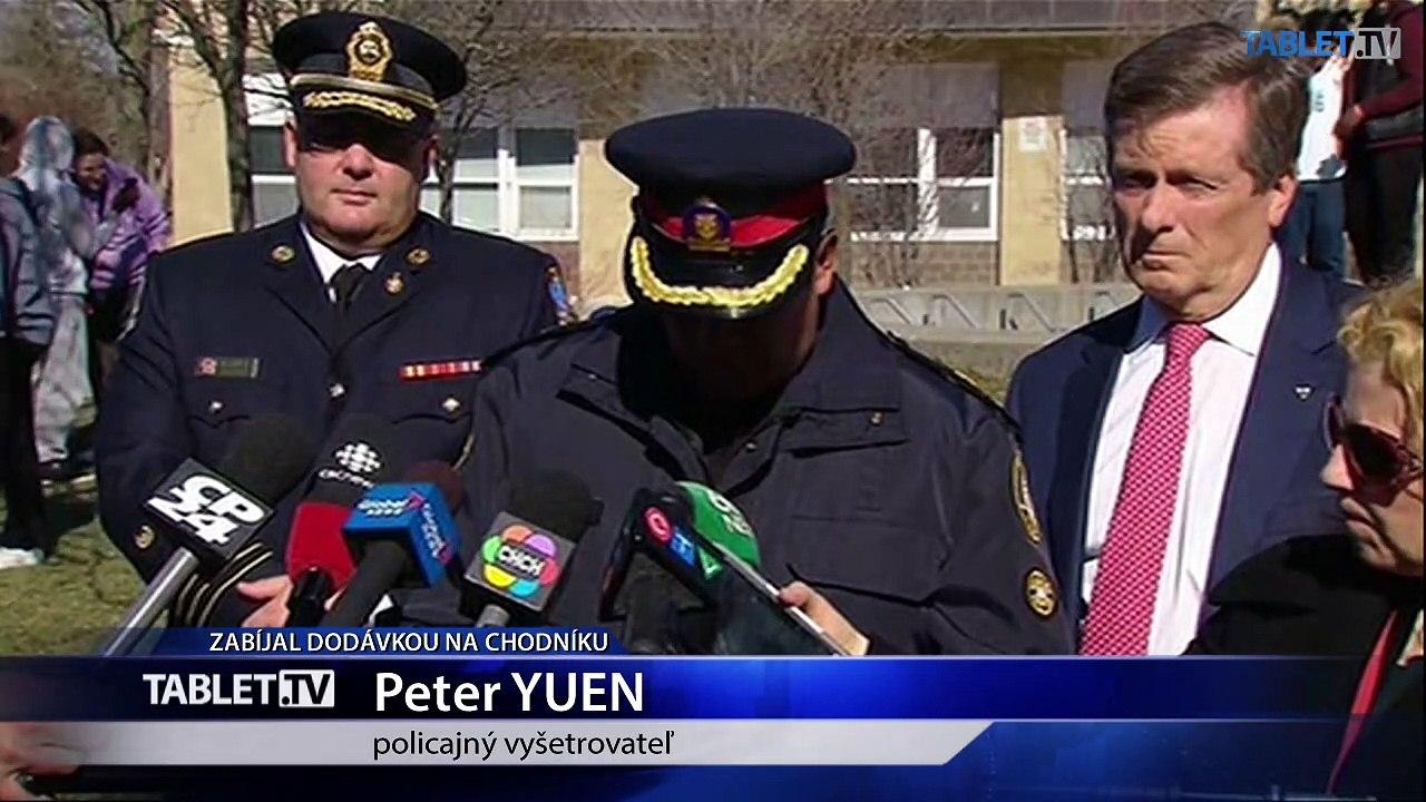 V Toronte vrazila do chodcov dodávka: 10 mŕtvych a 15 zranených