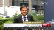 Líderes de Unión Europea se reúen en Bruselas para tratar crisis de refugiados